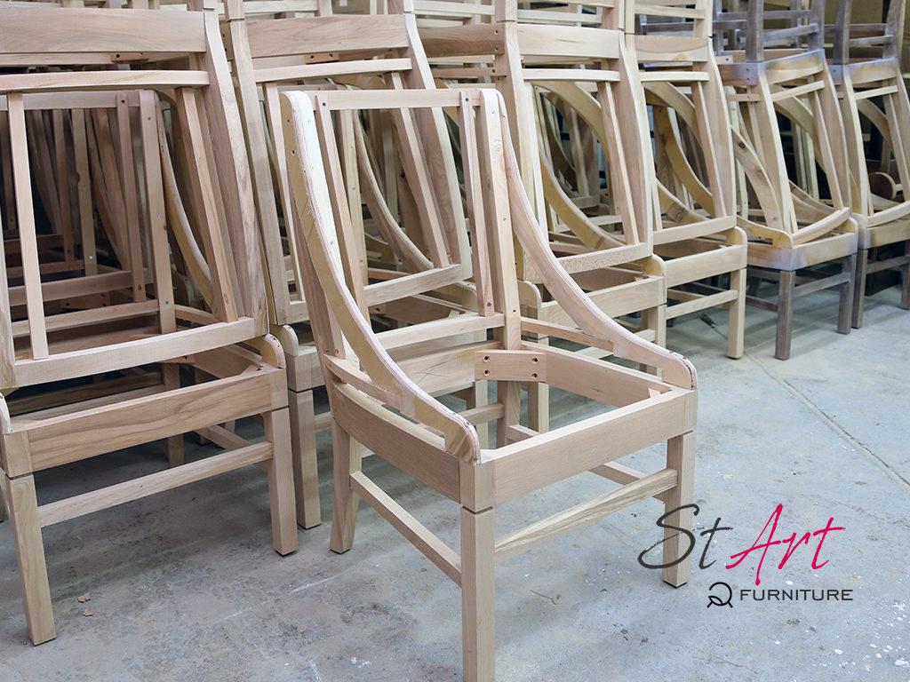 Деревянный каркас стула
